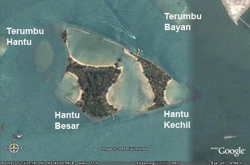 Pulau Hantu on wildsingapore